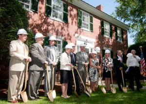 ground breaking bridges house new hampshire