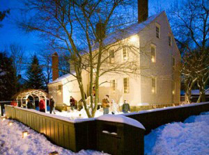 Visit the Candlelight Stroll at Strawbery Bank Museum
