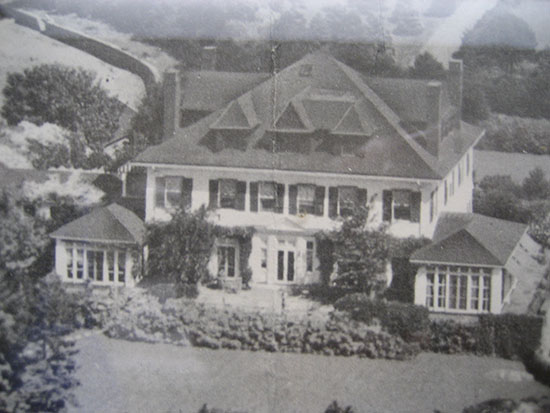 Before pictures of North Shore Estate, showing the original house built in 1892. Source: TMS Architects