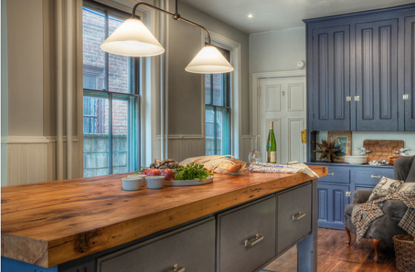 Source: Houzz - Nifty Kitchen Countertops Using Reclaimed & Repurposed Wood TMS