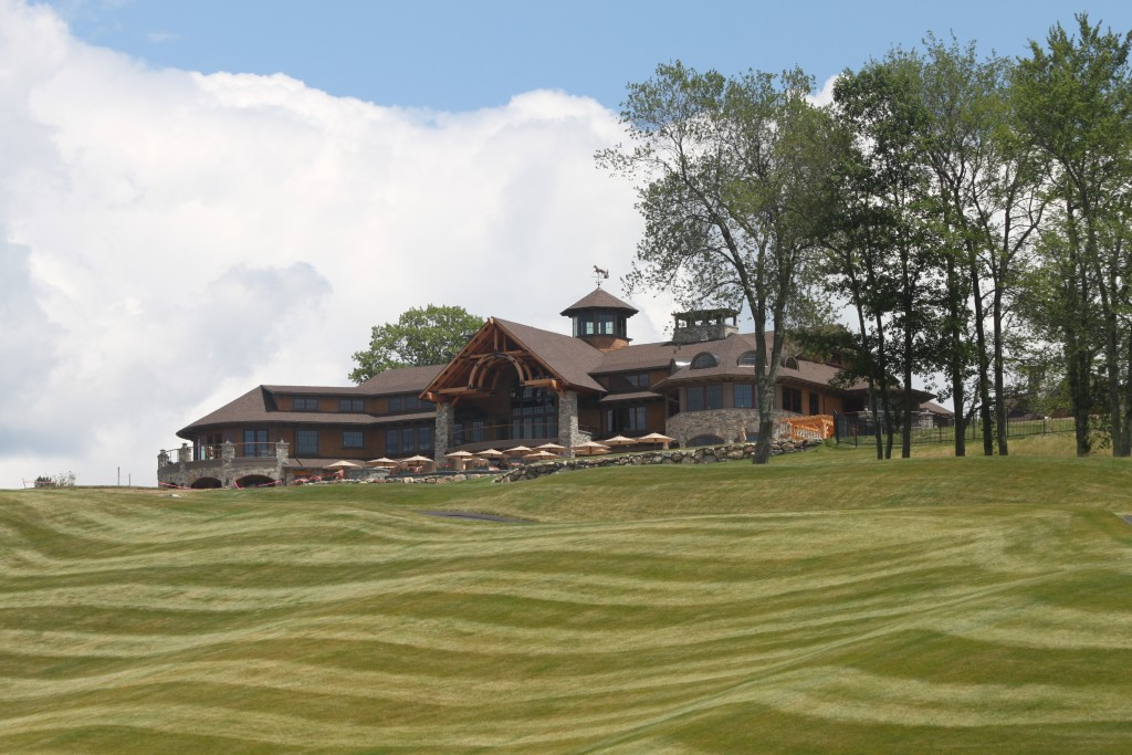 A View of GreatHourse from the golf course. Source: TMS Architects