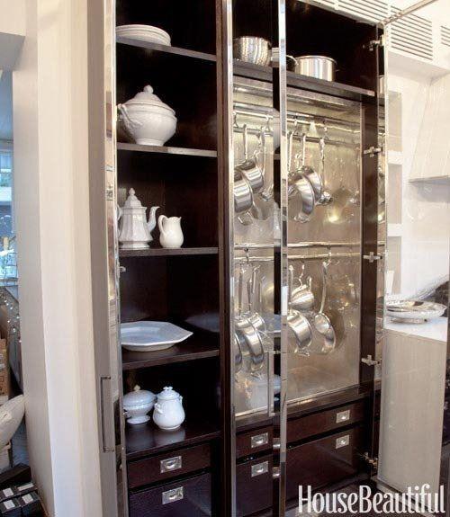 Cabinets Metal Boy House Beautiful