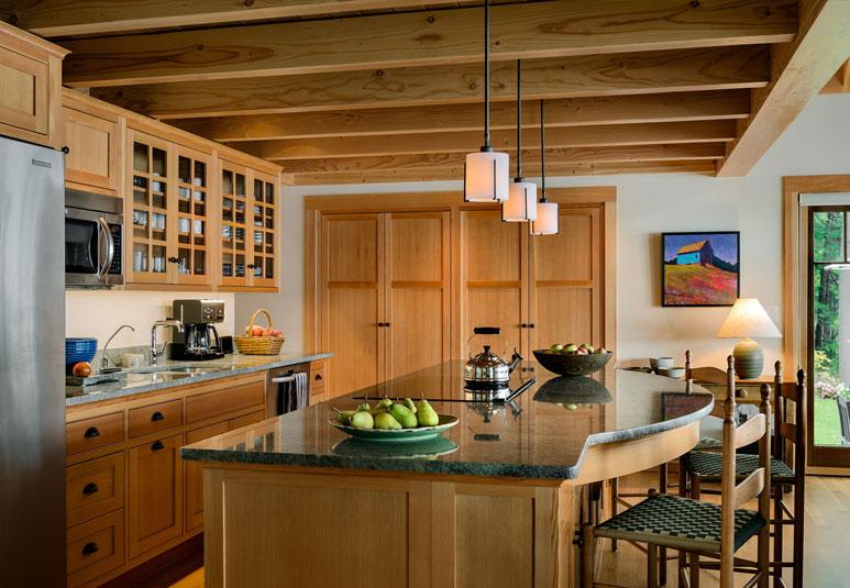 lakeside maine cottage tms architects