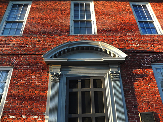 Architecturally unique, the 1716 Warner House on Daniel Street is the earliest urban brick house in northern New England. The nonprofit museum will celebrate the 300th anniversary of the colonial mansion in 2016. (J. Dennis Robinson photo).